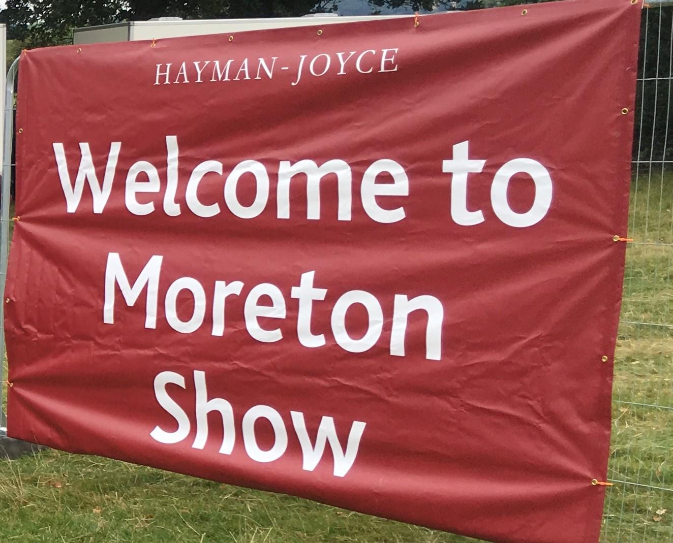 Moreton Show a shining beacon of the Cotswolds.