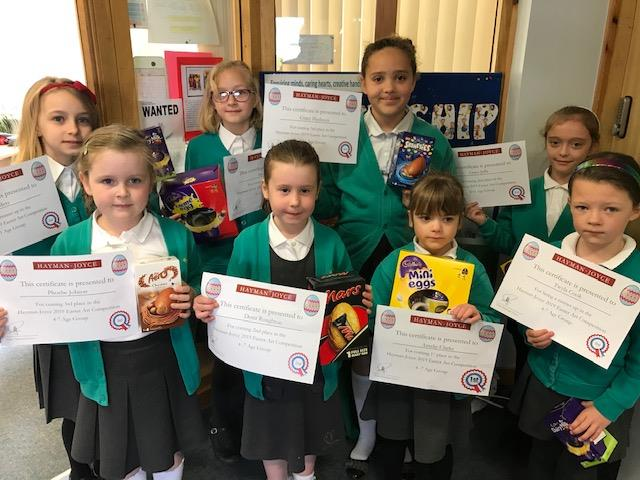 Easter Art Competition with St. David's Primary School