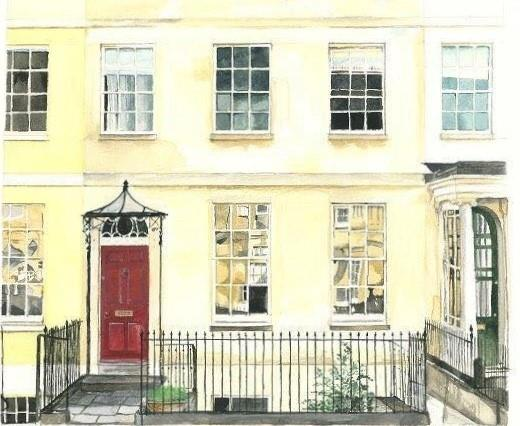 Cotswold-based artist Camilla MacDonald is offering to paint your home in a bid to raise much needed funds for the NHS