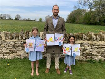 Winners of the Hayman-Joyce Easter art competition announced