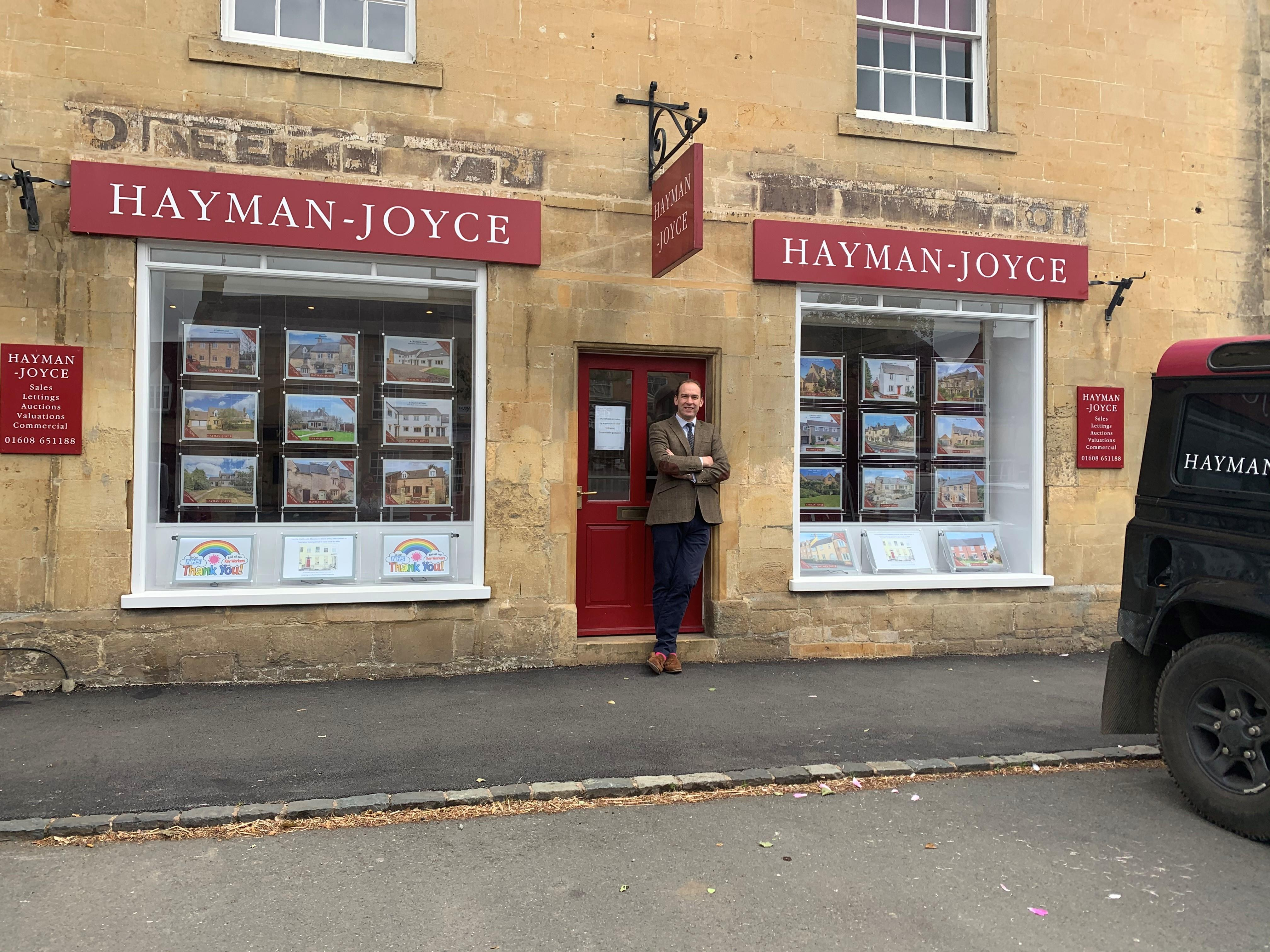 Hayman-Joyce reopen their doors and help families move to the Cotswolds again