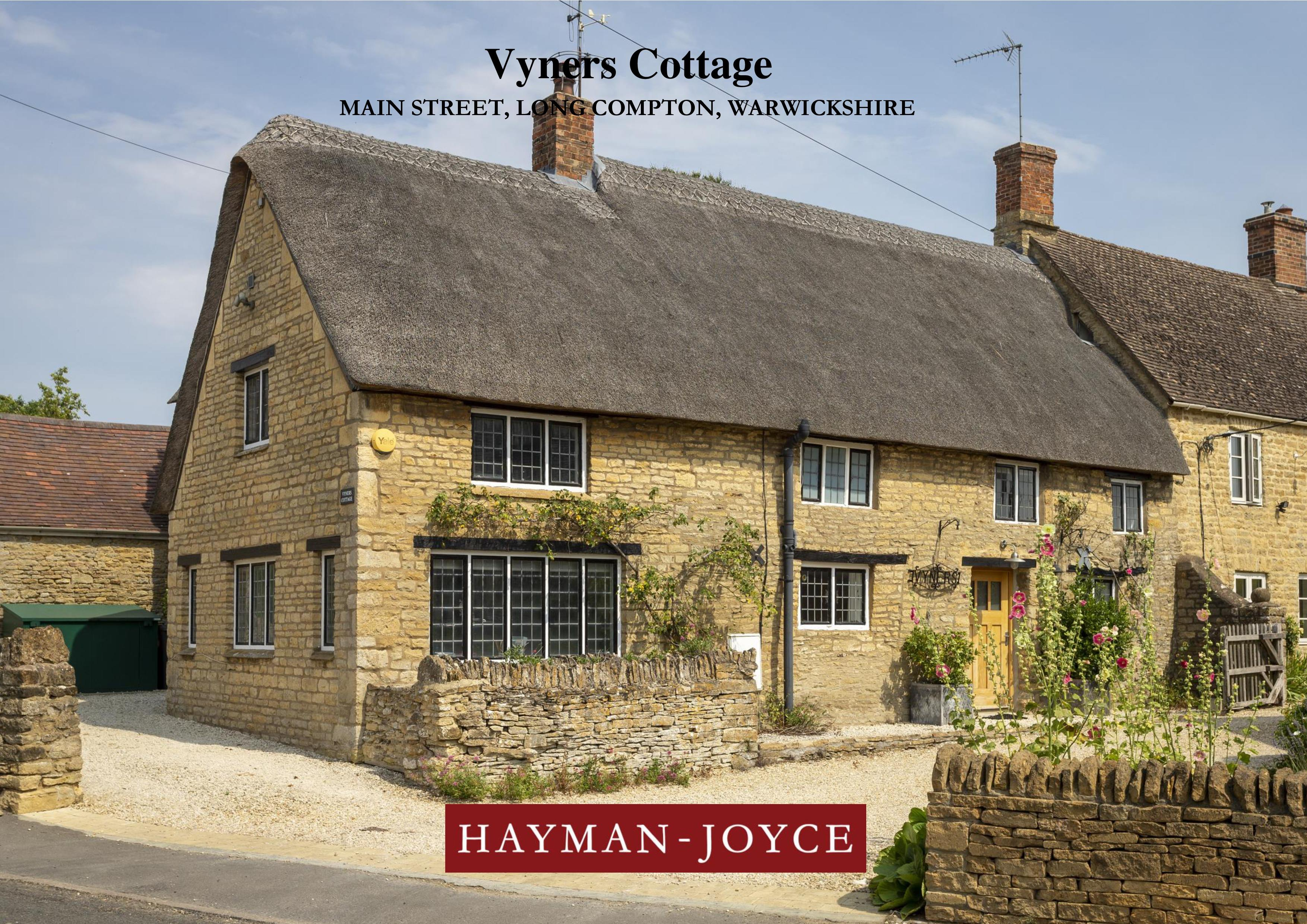Vyners Cottage in the Daily Express