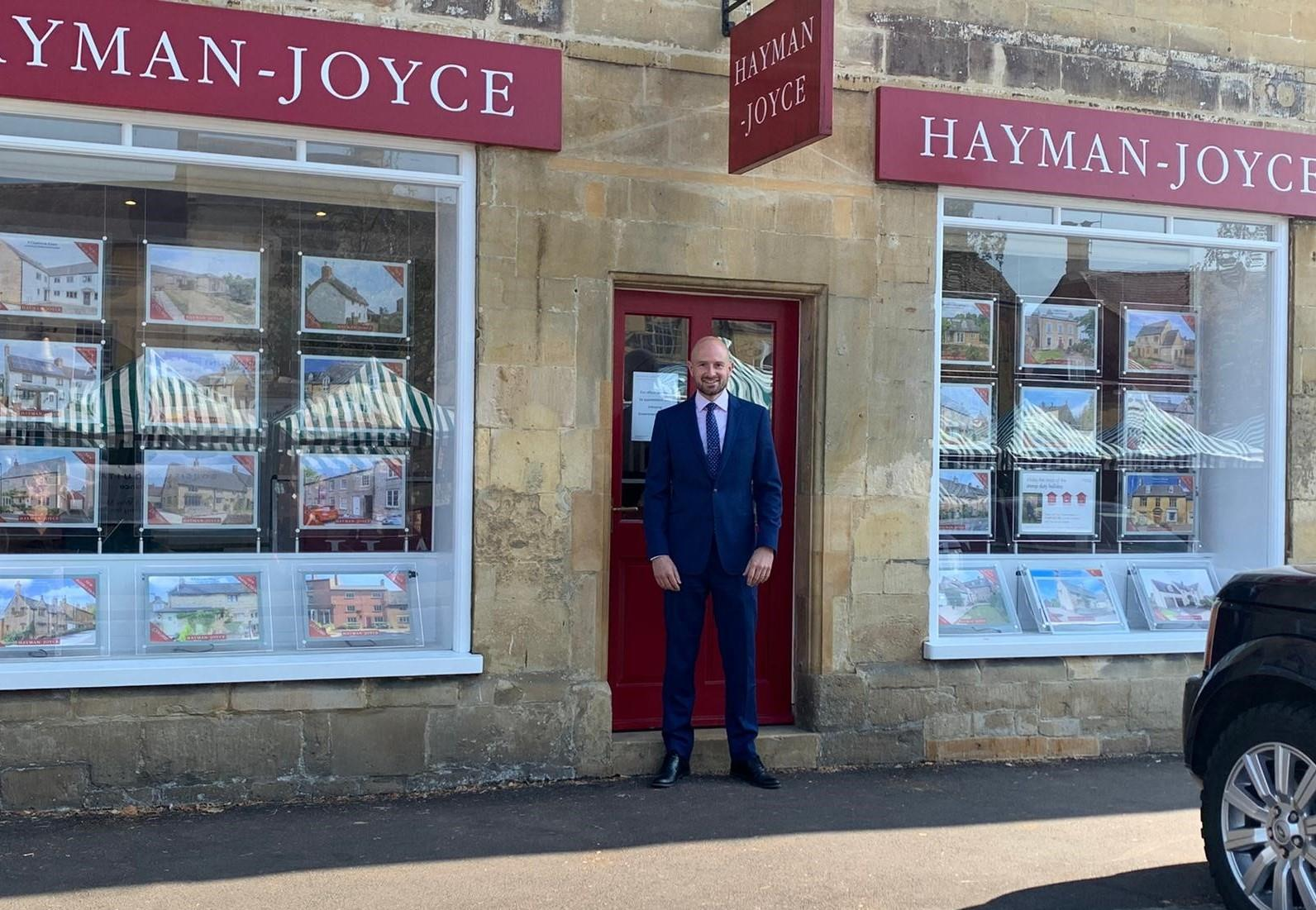 Hayman-Joyce welcome new Lettings Manager Adam Sambell to the Moreton-in-Marsh team